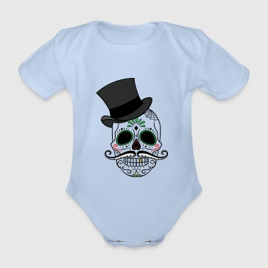 Day of the Dead - Organic Short-sleeved Baby Bodysuit
