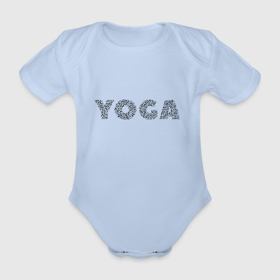 yoga - Organic Short-sleeved Baby Bodysuit
