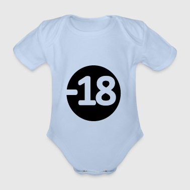 18 blak - Organic Short-sleeved Baby Bodysuit