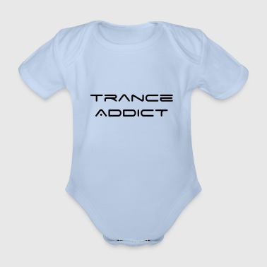 Trance Addict - Organic Short-sleeved Baby Bodysuit