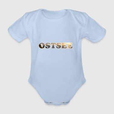 Text BALTIC - Organic Short-sleeved Baby Bodysuit