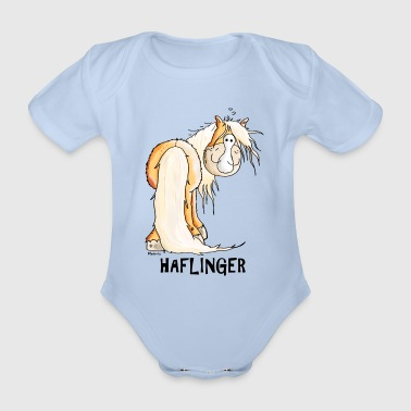 Happy Haflinger - Baby Bio-Kurzarm-Body