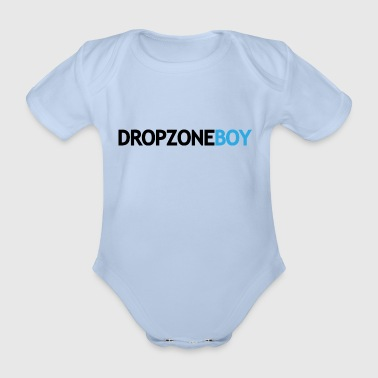 dropzoneBoy - Organic Short-sleeved Baby Bodysuit