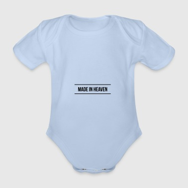Made in heaven - Organic Short-sleeved Baby Bodysuit