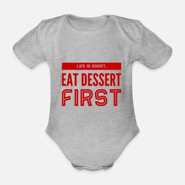 don't waste your time - Organic Short-Sleeved Baby Bodysuit