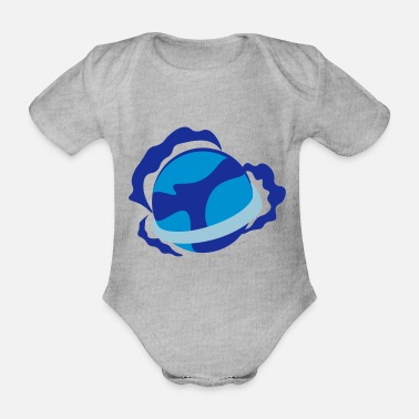 Blue Planet - Organic Short-Sleeved Baby Bodysuit