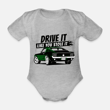 Theft Drive it - Fastback - Baby Bio Kurzarmbody
