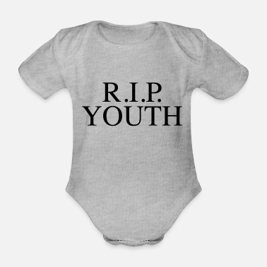 Youth RIP YOUTH - Organic Short-Sleeved Baby Bodysuit