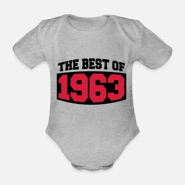 Best Of The Best Of 1963 - Ekologisk kortärmad babybody