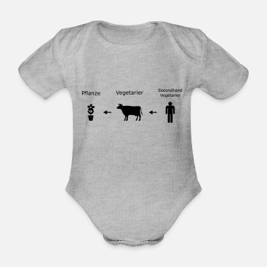 Food Chain food chain - Organic Short-Sleeved Baby Bodysuit