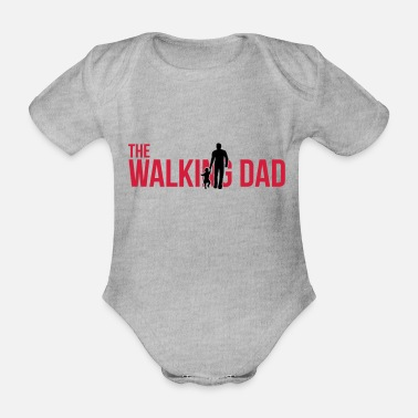 Nachwuchs The Walking Dad - Father and daughter - Baby Bio Kurzarmbody