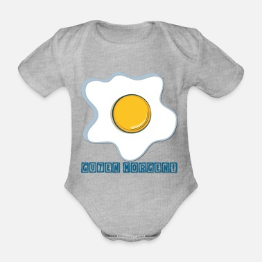 Good Morning Good Morning! - Organic Short-Sleeved Baby Bodysuit