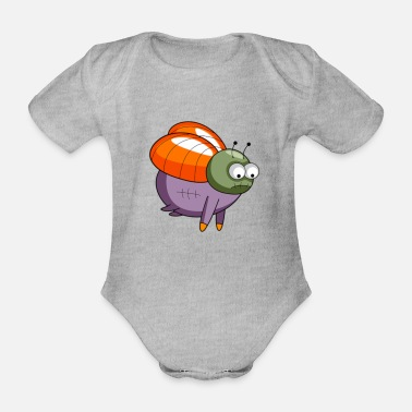 Insect insect - Organic Short-Sleeved Baby Bodysuit