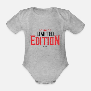 Macho limited edition crown - Organic Short-Sleeved Baby Bodysuit