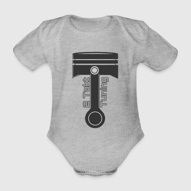 Tuning - Organic Short-sleeved Baby Bodysuit