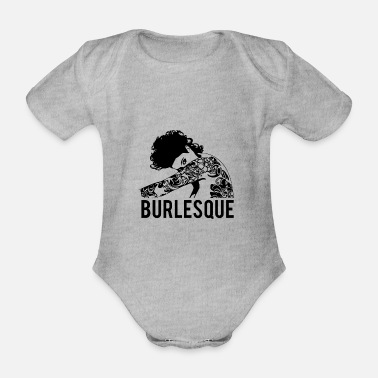 Burlesque burlesque - Organic Short-Sleeved Baby Bodysuit