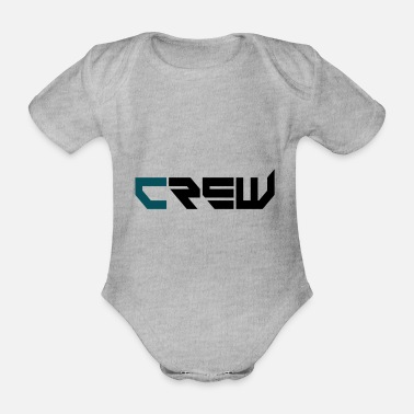 Crew Team - Organic Short-Sleeved Baby Bodysuit