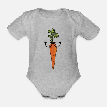 Bright Bright! - Organic Short-sleeved Baby Bodysuit
