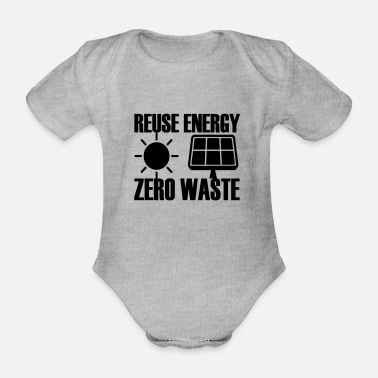 Waste Zero waste - Organic Short-Sleeved Baby Bodysuit