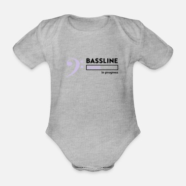 Bassline Bassline in progress - Baby Bio Kurzarmbody