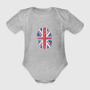 United Kingdom - Organic Short-sleeved Baby Bodysuit