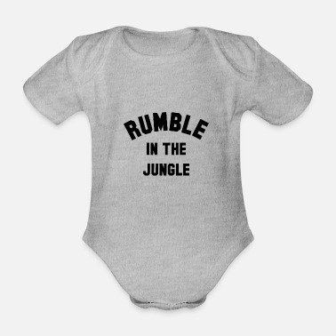 Rumble RUMBLE IN THE JUNGLE - Organic Short-Sleeved Baby Bodysuit