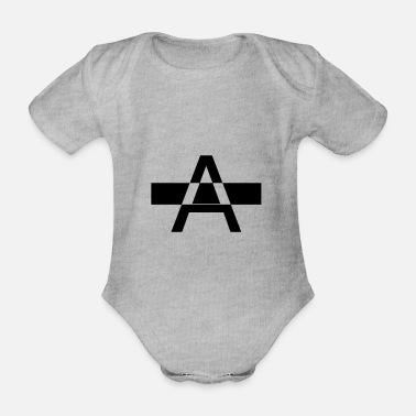 Ángel 1 - Organic Short-Sleeved Baby Bodysuit