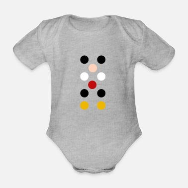 Minimal Micky Maus Micky Mouse Comic Cartoon - Baby Bio Kurzarmbody
