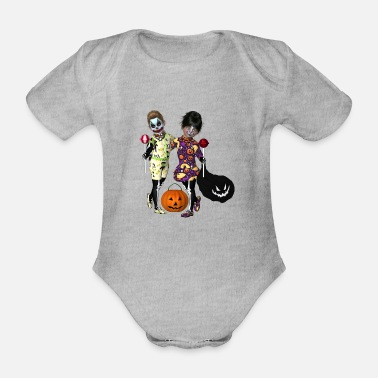 Enchantment Halloween tour - Organic Short-Sleeved Baby Bodysuit