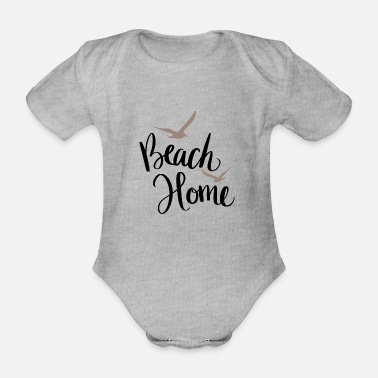 Estate Beach Home - Body neonato a manica corta