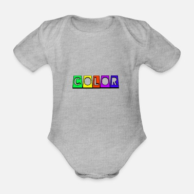 Color Color - Baby Bio Kurzarmbody