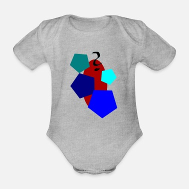Form to form - Organic Short-Sleeved Baby Bodysuit