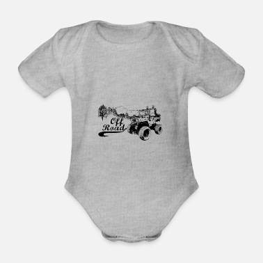 Rally Offroad - Organic Short-Sleeved Baby Bodysuit