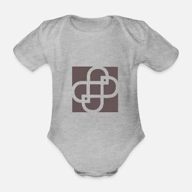 Labyrinth Labyrinth Time - Organic Short-Sleeved Baby Bodysuit