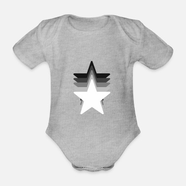 Parade star Parade - Organic Short-sleeved Baby Bodysuit