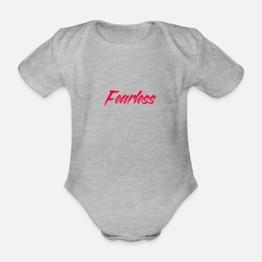 Fearless Fearless / fearless - Organic Short-Sleeved Baby Bodysuit