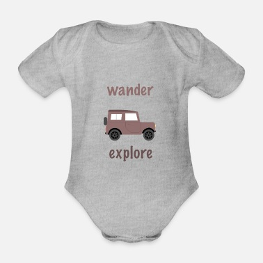 Outdoor Wanderlust outdoor - Body bébé bio manches courtes