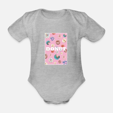 DONUT - Organic Short-Sleeved Baby Bodysuit