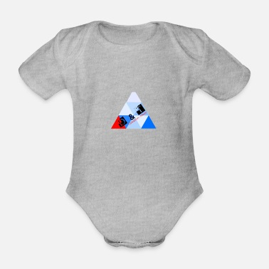 D & T COLLECTION - FASHION - Organic Short-Sleeved Baby Bodysuit