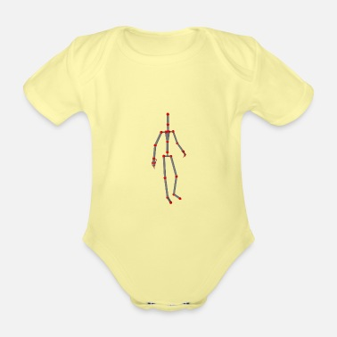 Motion Motion capture - Organic Short-Sleeved Baby Bodysuit