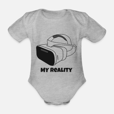 My Reality - Virtual Reality (VR) - Baby Bio Kurzarmbody