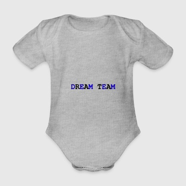 Dream Team - Body ecologico per neonato a manica corta