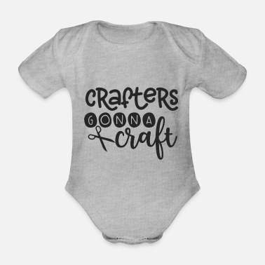 Hobbies Hobby is a hobby - Organic Short-Sleeved Baby Bodysuit
