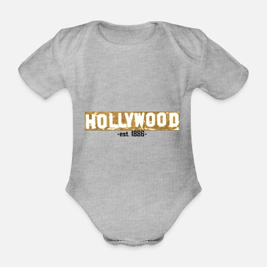 Hollywood Hollywood - Body bébé bio manches courtes