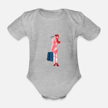 VACATION - Organic Short-Sleeved Baby Bodysuit