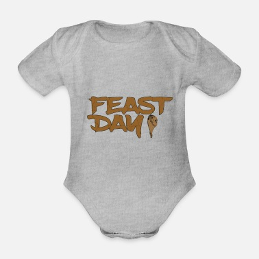 Feast Day feast day - Organic Short-Sleeved Baby Bodysuit