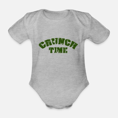 Crunch CRUNCH TIME - Organic Short-Sleeved Baby Bodysuit