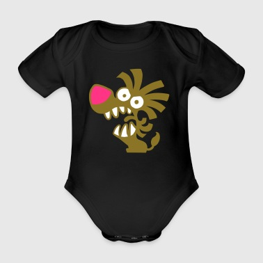 Lil Roar! - Organic Short-sleeved Baby Bodysuit