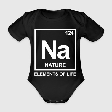Elements of life: 124 nature - Baby bio-rompertje met korte mouwen