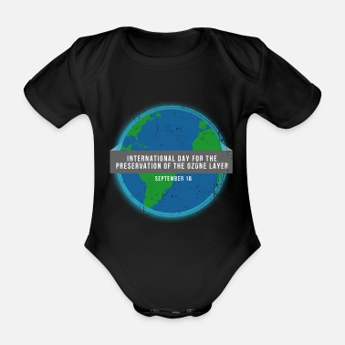 Climate Change climate Change - Organic Short-sleeved Baby Bodysuit